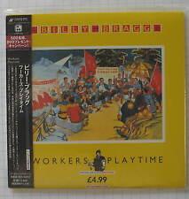 BILLY BRAGG - Workers Playtime + 8 JAPAN MINI LP CD NEU! TECI-24418