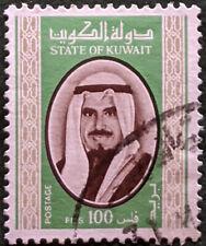 Stamp Kuwait 1978 100F Shaikh Jabir Used