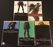 OLD GUARD #1 - 5 Comic Books FULL SET Image Retailer Edition VF+ Greg Rucka 2017