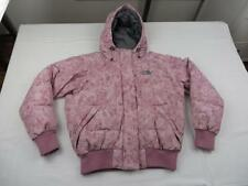 Used Northface Womens Sexy Pink Warm 550 Goose Down Puffer Ski Jacket Coat Sz S