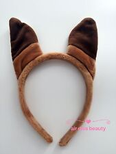 Women Girl Boy Kid Zootopia Fox Nick brown Ear Costume party hair band Headband