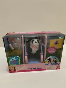 Barbie Zoo Babies 2000 Ping Ping Panda (NEW)