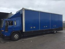 Volvo FL6 18ton pantechnicon 5 container side loading doors removals truck