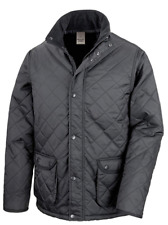 result black padded jacket small cheltenham r195x