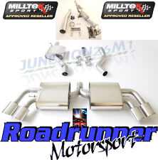 Milltek Audi TT MK2 Tts Quattro Échappement Inoxydable Turbo back Inc Sports Cat Res