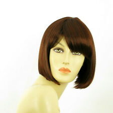 short wig for women dark brown copper intense ref: MAIA 322 PERUK