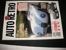 **fe Revue Auto Rétro n°149 BMW 502 / Jaguar Type C / Ferrari 512 S Pinin Farina
