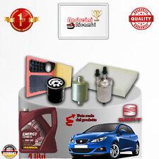 Mantenimiento Filtros + Aceite Seat Ibiza V 1.4 16V Dual Gpl 63KW 86CV de 2010-