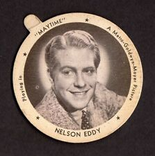1930's DIXIE LIDS Trading Cards NELSON EDDY **stunning for your collection**