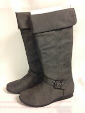 """Life Stride """"Fairbanks"""" Mid-Calf Boots Grey Synthetic Upper New with Box"""