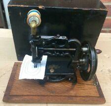 Antique James Galloway Weir Chain stitch sewing machine
