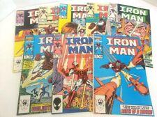IRON MAN 201 202 203 204 205 206 207 208 Comic Book Marvel Lot Nm- 1985