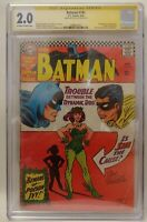 Batman #181 (first appearance of Poison Ivy) - SIGNED BY JOE GIELLA CGC