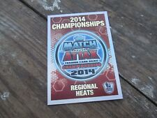 Match Attax 2013-14 13-14 Championships 2014 Bronze Regional Heats MINT