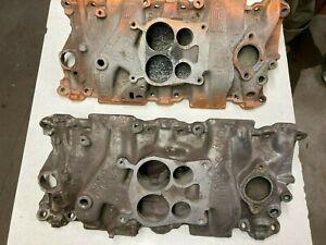 Aluminum Intake GM 14057053. Used.