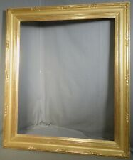 Vintage Museum Quality Gold Leaf Federal Style PIcture Frame Closed Corner 30x25