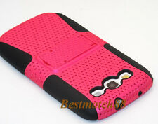 for Samsung galaxy s3 case skin hot pink kickstand 2 layer //  / S III