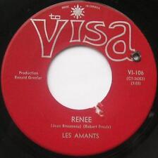 LES AMANTS Renée /Voyons chéri FRENCH POP MEGA RARE Groupe 1968 Canada QUEBEC 45