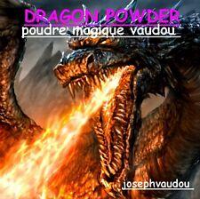 DRAGON POWDER - poudre magique vaudou - retour affectif