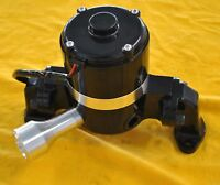 SBC Small Block Chevy Electric Water Pump High Volume Black High Flow Aluminum