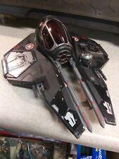Star Wars Darth Vaders Imperial Starfighter Black Hasbro 2004 Vehicle
