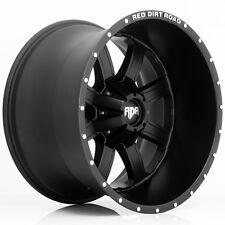 "4-NEW RDR RD01 Dirt 20x12 6x135/6x5.5"" -44mm Satin Black Wheels Rims"
