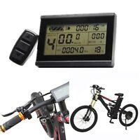 für EBike Fahrrad Display KT-LCD3 Tachoanzeige Control Panel 24V 36V 48V 60V 72V