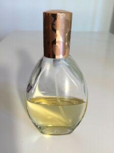 Vanilla Musk Coty Cologne Spray 1.7 Oz Women's Vintage Approximately half a bott