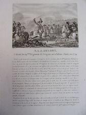 S.A.A DELORT Colonel du 24e Régiment de Dragons, né à Arbois en 1774