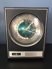 Vintage Howard Miller World Time Mantel Shelf Clock Model 8Rw300 Japan Works