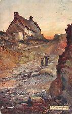 BR93399 a cornish cove painting postcard fotter   uk