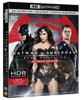 BATMAN V SUPERMAN: Dawn of Justice (BLU-RAY 4K + 2K) Ben Affleck, Henry Cavill