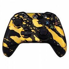 """Gold Splash"" Xbox One S Custom UN-MODDED Controller Unique Design"