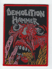 "Demolition Hammer ""Tortured Existence"" Patch morbid saint-dark angel-exhorder"
