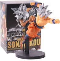DRAGON BALL SUPER - Goku Ultra Instinto BWFC figura acción 18 cm Ultra Instinct