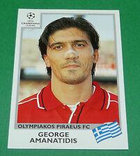 N°177 AMANATIDIS OLYMPIAKOS PANINI FOOTBALL CHAMPIONS LEAGUE 1999-2000
