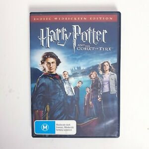 Harry Potter and the Goblet Of Fire Movie DVD Region 4 AUS Free Postage