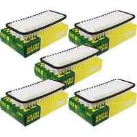 5x MANN-FILTER Luftfilter C 2610 Air Filter