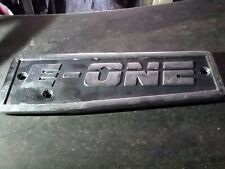e one emblem for a fire truck or man cave