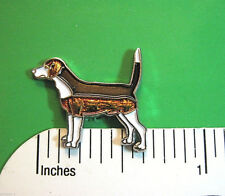 Beagle - hat pin , lapel pin , tie tac , hatpin (Enamel) Gift Boxed