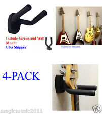 LOT of Top Stage™ 4 Guitar Wall Hanger/Holder/Stand/Rack, Free Hardware, GRAK-Q4