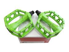 "New VP-565 BMX MTB Cruiser Bicycle Bike Pedals 9/16"" Green"