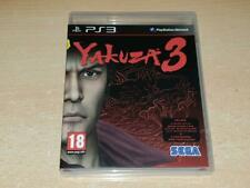 Yakuza 3 PS3 Playstation 3 With Bonus Disc (Spanish Cover)
