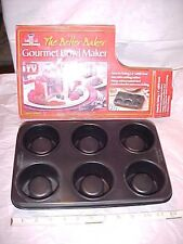 "NEW Gourmet Bowl Maker BETTER BAKER As Seen on TV 3"" Edible Cook Choice Pan"