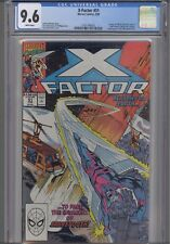 X-Factor #51 CGC 9.6 1990 Marvel:1st App of  Charlotte Jones: NEW CGC Frame