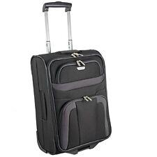 Travelite Orlando 2 Rollen KabinenTrolley Koffer Reisegepäck 53 cm (schwarz)
