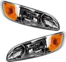 NEW Headlights Pair Set for 05-15 Peterbilt 325 330 335 337 348 382 384 386