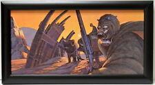 Star Wars TUSKEN RAIDERS / SANDPEOPLE FRAMED CONCEPT PRINT McQuarrie 1977