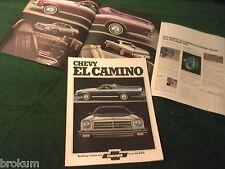 MINT CHEVROLET 1974 CHEVY EL CAMINO PICKUP TRUCK SALES BROCHURE NEW (R-40)