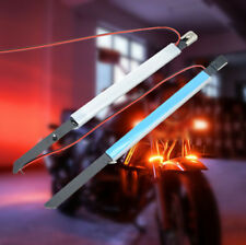 LED Strip Bike Motorcycle Fork Turn Signal Indicator Light 23mm Metal Cable Tie